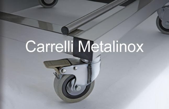 Carrelli in acciaio inox - Carrelli cucina - Carrelli panificio ...
